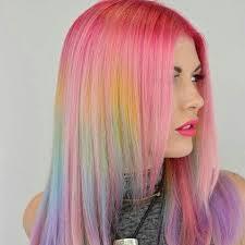 رنگ كردن موی زنانه