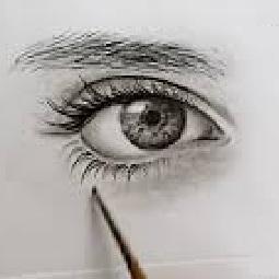 نقاش سیاه قلم